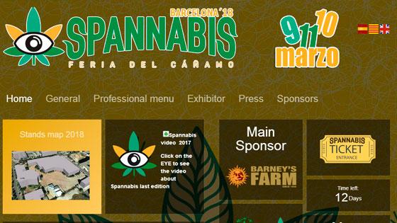 El equipo VIP-SEEDS asistirá a la feria  de cannabis en Barcelona los días 9, 10 y 11 de marzo de 2018.