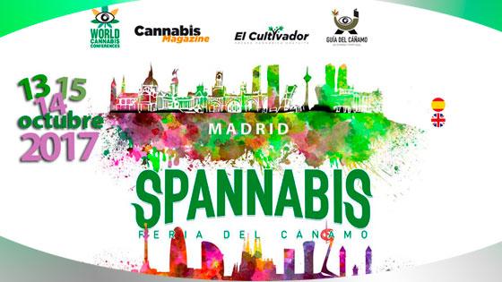 Ya llega  Spannabis 2017 ¡Todos a Madrid! Estaremos en el stand 19